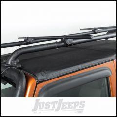 """Rugged Ridge Sherpa Roof Rack Crossbars Round 56.5"""" For 2007-18 Jeep Wrangler JK 2 Door & Unlimited 4 Door Models 11703.11"""