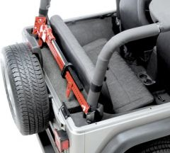 Quadratec Sport Cage Hi-Lift Jack Mount for 76-91 Jeep CJ-7 & Wrangler YJ 92200.9004