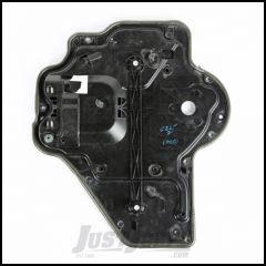 Omix-ADA Rear Passenger Carrier Plate Door Panel For 2007-10 Jeep Wrangler JK Unlimited 4 Door Models - Manual 11812.73