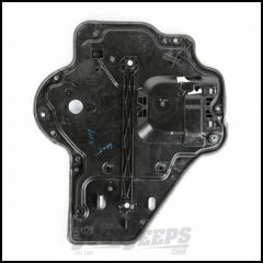 Omix-ADA Rear Driver Carrier Plate Door Panel For 2007-10 Jeep Wrangler JK Unlimited 4 Door Models - Manual 11812.74