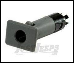 Rugged Ridge Door Pin Insert for Steel Half Doors Grey 1987-06 YJ TJ Wrangler 11818.09