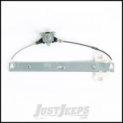 Omix-ADA Driver Side Front Manual Window Regulator For 2007-18 Jeep Wrangler JK 2 Door & Unlimited 4 Door Models 11821.31