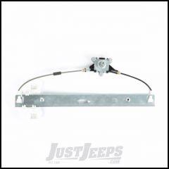 Omix-ADA Rear Passenger Manual Window Regulator For 2007-18 Jeep Wrangler JK Unlimited 4 Door Models 11821.32