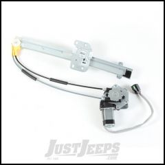 Omix-ADA Driver Side Front Power Window Regulator For 1997-01 Jeep Cherokee XJ 11821.34