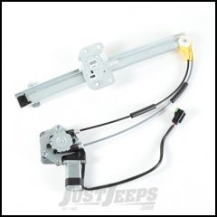 Omix-ADA Passenger Side Front Power Window Regulator For 1997-01 Jeep Cherokee XJ 11821.35
