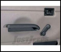 Rugged Ridge Hard Door Arm Rest Black For 1987-95 Jeep Wrangler YJ 11830.01