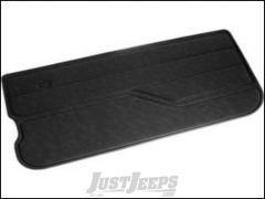 Omix-ADA Door Panel Right Black Vinyl For 1982-95 Jeep CJ Series & Wrangler YJ 11841.01