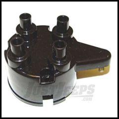 Omix-ADA Distributor Cap for 1950-71 Jeep M38A1 4 CYL 24 Volt 17244.03