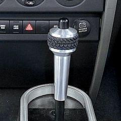 DV8 Off Road Billet Aluminum Automatic Shift Knob For 2007-10 Jeep Wrangler JK 2 Door & Unlimited 4 Door D-JP-180013-BL