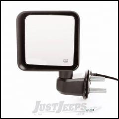 Omix-ADA Black Driver Side Power & Heated Mirror For 2015-18 Jeep Wrangler JK 2 Door & Unlimited 4 Door Models 12039.31