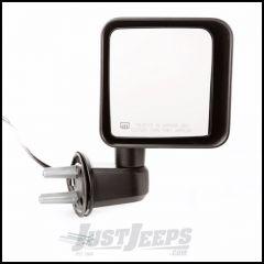 Omix-ADA Black Passenger Side Power & Heated Mirror For 2015-18 Jeep Wrangler JK 2 Door & Unlimited 4 Door Models 12039.32