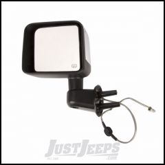 Omix-ADA Mirror Power & Heated Driver Side With Chrome Cover For 2014 Jeep Wrangler JK 2 Door & Unlimited 4 Door Models 12039.33