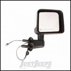 Omix-ADA Mirror Power & Heated Passenger Side With Chrome Cover For 2014 Jeep Wrangler JK 2 Door & Unlimited 4 Door Models 12039.34