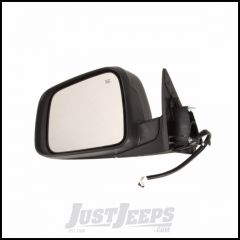 Omix-ADA Driver Side Mirror With Heat, Power, Memory, Signal Lamp Comes With Cover Primed Black & For 2011-14 Jeep Grand Cherokee 12039.35