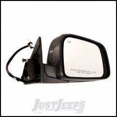 Omix-ADA Passenger Side Mirror With Heat, Power, Memory, Signal Lamp Comes With Cover Primed Black & For 2011-14 Jeep Grand Cherokee 12039.36