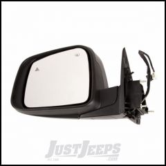 Omix-ADA Driver Side Mirror With Heat, Power, Memory, Signal Lamp & Blind Spot Lamp Comes With Cover Primed Black & For 2011-14 Jeep Grand Cherokee 12039.37