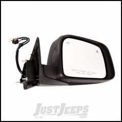 Omix-ADA Passenger Side Mirror With Heat, Power, Memory, Signal Lamp & Blind Spot Lamp Comes With Cover Primed Black & For 2011-14 Jeep Grand Cherokee 12039.38