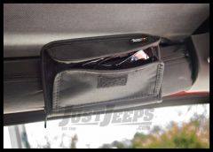 Rugged Ridge Universal Roll Bar Sunglasses Holder / Storage Pouch 12101.52