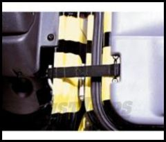 Rugged Ridge Adjustable Door Strap For Fits 76-06 CJ YJ and TJ (PAIR) 12103.01