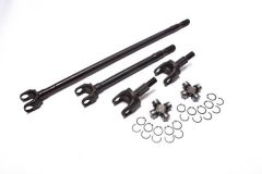 Alloy USA Front 27 Spline Chromoly Axle Kit For 2007-18 Jeep Wrangler JK Models With Dana 30 Axle 12152