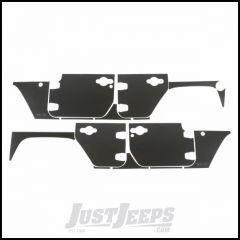 Rugged Ridge (Matte Black) Magnetic Body Protection Panels For 2007-18 Jeep Wrangler JK Unlimited 4 Door Models 12300.53