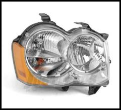 Omix-ADA Headlight Assembly Passenger Side For 2008-10 Jeep Grand Cherokee WK 12402.22