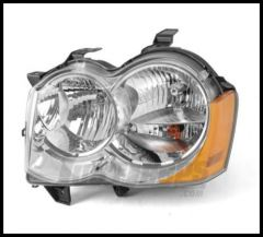Omix-ADA Headlight Assembly Driver Side For 2008-10 Jeep Grand Cherokee WK 12402.23