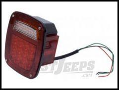 Rugged Ridge Passenger Side LED Tail Light 1976-06 Wrangler YJ TJ and CJ series 12403.82