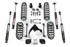"TeraFlex 2.5"" Suspension Lift Kit Basic With 9550 Shocks For 2007-18 Jeep Wrangler JK 4 Door Unlimited Models 1251000"