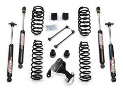 """TeraFlex 3"""" Suspension Lift Kit Basic With 9550 Shocks For 2007-18 Jeep Wrangler JK 2 Door 1251202"""