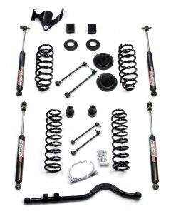 "TeraFlex 3"" Suspension Lift Kit With Trackbar & 9550 Shocks For 2007-18 Jeep Wrangler JK Unlimited 4 Door Models 1251220"