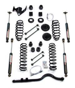 """TeraFlex 4"""" Lift Kit Basic With 9550 Shocks For 2007+ Jeep Wrangler JK 4 Door Unlimited 1251400"""