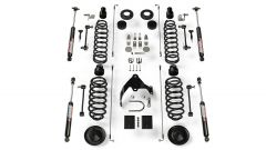 "TeraFlex 4"" Lift Kit Basic w/ 9550 VSS Shocks For 2007-18 Jeep Wrangler JK 2 Door 1251421"