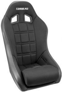 Corbeau Baja XP Suspension Seat in Black Vinyl/Cloth 68802B