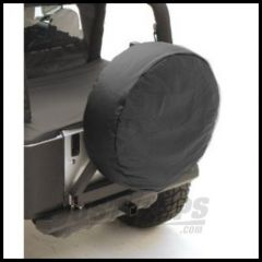 """Rugged Ridge Tire Cover For 30""""-32"""" In Black - Universal 12802.01"""
