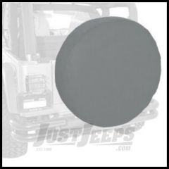 "Rugged Ridge Tire Cover For 35""-36"" In Grey Denum - Universal 12804.09"