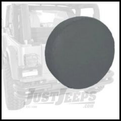 "Rugged Ridge Tire Cover For 35""-36"" In Black Denum - Universal 12804.15"