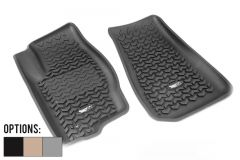 Rugged Ridge Front Row Floor Liner For 2007-17 Jeep Patriot MK & Jeep Compass MK Models 12920.30-