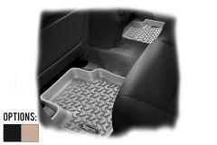 Rugged Ridge Rear Floor Mats (Pair) For 2008-12 Jeep Liberty KK Models 12950.20-