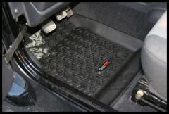 Rugged Ridge Front Floor Liner For 1997-06 Jeep Wrangler TJ & TJ Unlimited Models 12920.11