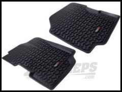 Rugged Ridge All Terrain Front Floor Liner Pair 1976-95 Jeep Wrangler YJ and CJ 12920.21