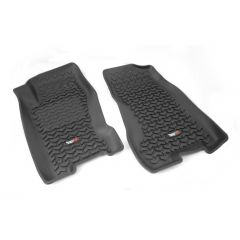 Rugged Ridge Front Floor Liner Pair Black For 1999-04 Jeep Grand Cherokee WJ 12920.27