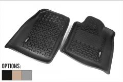Rugged Ridge All Terrain Front Floor Liner (Pair) For 2012+ Jeep Grand Cherokee WK2 12920.32-