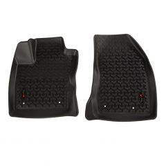 Rugged Ridge (Black) Front Floor Liner Kit For 2017+ Jeep Compass MP Models 12920.35