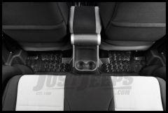 Rugged Ridge Rear Floor Liner in Black 2007+ JK Wrangler and Rubicon 2-Door 12950.02