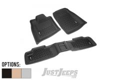 Rugged Ridge Front & Rear Floor Liner Kit For 2011+ Jeep Grand Cherokee WK2 Models 12987.24-