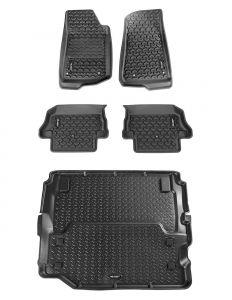Rugged Ridge All Terrain Floor Liner 5-Piece Set For 2018+ Jeep Wrangler JL 2 Door Models 12988.07
