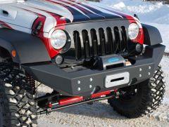 Off Camber Fabrications Front Full Width Winch Bumper For 2007-18 Jeep Wrangler JK 2 Door & Unlimited 4 Door Models 130924