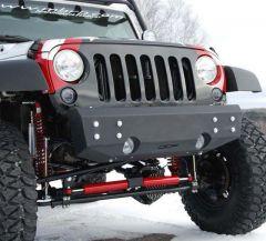 Off Camber Fabrications Front Stubby Bumper For 2007-18 Jeep Wrangler JK 2 Door & Unlimited 4 Door Models 131094