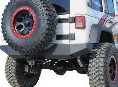 Off Camber Fabrications Rear Full Width Bumper For 2007-18 Jeep Wrangler JK 2 Door & Unlimited 4 Door Models 131095